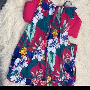 Size 26 Cacique Lane Bryant Tankini Swimsuit Top